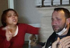 Karısı oklava ile dövüp sokağa attı