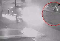 Feci kaza Otomobilin altında metrelerce sürüklendi