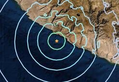Peruda 6.1 büyüklüğünde şiddetli deprem oldu