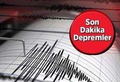 Deprem oldu mu Az önce deprem mi oldu 28 Aralık son depremler Kandilli - AFAD