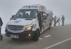 Hakkari-Yüksekova kara yolunda kaza Ölü ve yaralılar var
