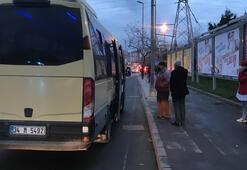 Esenyurt'ta yine aynı manzara Tıka basa dolu minibüse ceza yazıldı