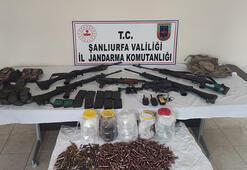 Şanlıurfada kaçak silah ve uyuşturucu operasyonu