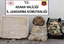 Evinde Roma döneminden eserler bulunan kişi gözaltına alındı