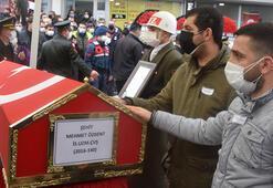 İzmir, şehidini son yolculuğuna uğurladı