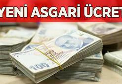 Yeni asgari ücret ve asgari geçim indirimi ne kadar 2021 Asgari ücret zammı son dakika