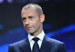 UEFA Başkanı Ceferinden İstanbul için seyirci sinyali