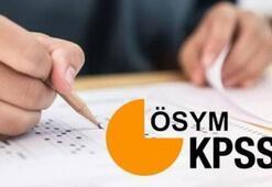 2020/2 KPSS tercih kılavuzu ÖSYM üzerinden yayımlandı mı KPSS tercihleri hangi tarihte başlıyor