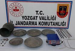 Yozgatta tarihi eser operasyonu: 3 gözaltı