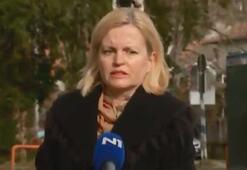 Hırvatistandaki depreme canlı yayında yakalandılar