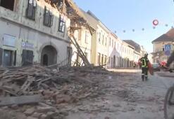 Hırvatistan'ı 6.3'lük deprem vurdu: 1 ölü