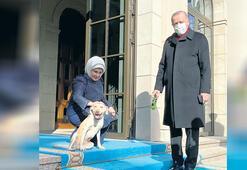 Erdoğan'a Leblebi'li uğurlama
