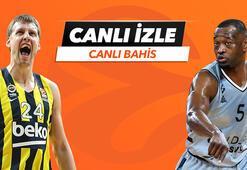 Fenerbahçe Beko - Asvel maçı Tek Maç, Canlı Bahis ve Canlı İzle seçenekleriyle Misli.comda