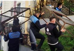 İstanbulda evden yayılan kötü koku isyan ettirdi