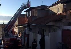 Kocaelide evde çıkan yangında 2 çocuk yaralandı