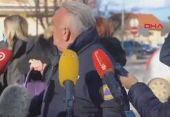 Hırvatistanda belediye başkanı canlı yayında artçı depreme yakalandı