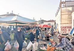 Cunda'da pazaryeri  bugün açık olacak