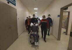 Abdullah Türkiyenin yardımıyla yürümeye başladı