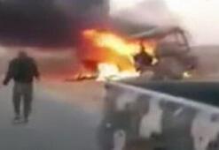 Son dakika... Suriyede yolcu otobüsüne saldırı Çok sayıda ölü var