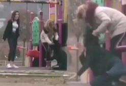 Genç kız parkta dehşeti yaşadı Anbean kaydetti