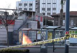 Balıkesirde otobüs durağında bomba paniği