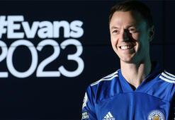 Son dakika | Leicester City, Evansın sözleşmesini 2023e kadar uzattı
