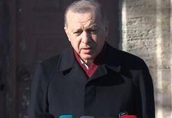 Almanya ile ortak aşı üretimi Cuma namazının ardından Cumhurbaşkanı Erdoğandan önemli açıklamalar