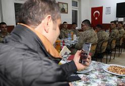 Bakan Soyludan, Sivastaki askerlere sürpriz kutlama