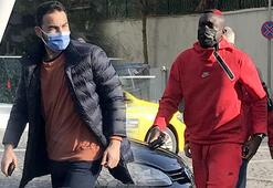 Galatasarayda futbolculardan Omar Elabdellaouiye ziyaret