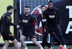 Galatasarayda Antalyaspor öncesi taktik çalışma