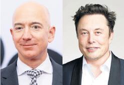 Bezos ve Musk'ın serveti katlandı