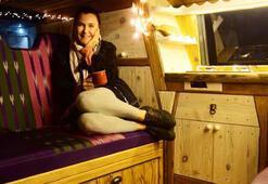 Şevval Sam'ın karavan hayali gerçek oldu