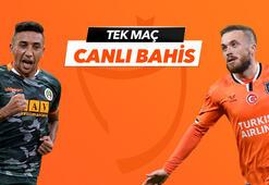 Alanyaspor -  Başakşehir maçı canlı bahis heyecanı Misli.comda