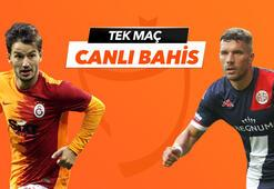 Galatasaray - Antalyaspor maçı canlı bahis heyecanı Misli.comda
