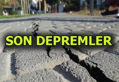 Deprem mi oldu Son dakika deprem haberleri Afet ve Acil Durum Yönetimi Başkanlığı Deprem Dairesi Başkanlığı paylaşımı