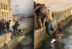Ortaköyde can pazarı Polis burada olmasa ölmüştü