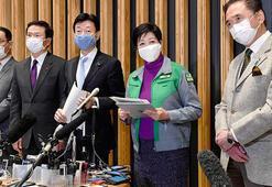 Tokyo ve 3 çevresindeki eyaletten Japonya hükümetine OHAL çağrısı