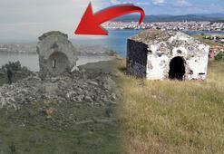 Son dakika... Cunda Adasındaki 250 yıllık eseri bu hale getirdiler