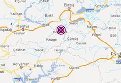 Son dakika... Elazığ Sivricede 4.2 büyüklüğünde deprem