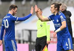 Leicester Cityde Newcastle zaferi Çağlar Söyüncü...