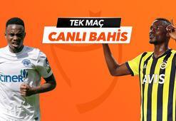 Kasımpaşa - Fenerbahçe maçı Tek Maç ve Canlı Bahis seçenekleriyle Misli.com'da