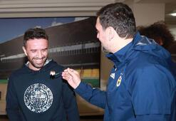 Fenerbahçede Gökhan Gönülün doğum günü kutlandı