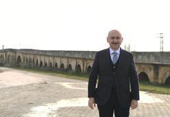 Bakan Karaismailoğlu: Tarihi köprüler turizme kazandırılıyor