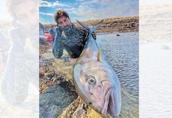 27 kiloluk akya balığı