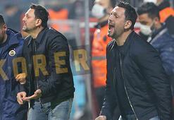 Son dakika - Fenerbahçeli yıldız Erol Bulutu kızdırdı Maç sonu yanına gitti...