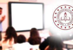 MEBden flaş yüz yüze eğitim açıklaması Kurslar...