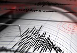 Son dakika... Türkiyede en son nerede, kaç şiddetinde deprem oldu Kandilli Rasathanesi son depremler listesi...