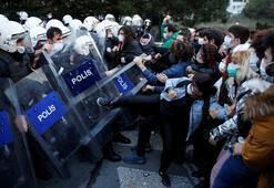 Son dakika: Boğaziçi Üniversitesindeki eylemlere ilişkin İçişlerinden flaş açıklama