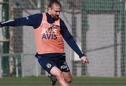 Son dakika   Fenerbahçede Caner Erkin takımla çalıştı