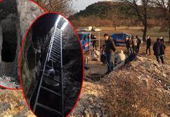 Eskişehirde kaçak define kazısı yapan 15 kişiye suçüstü